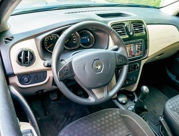 Renault Logan из парка ЗР: только хорошее