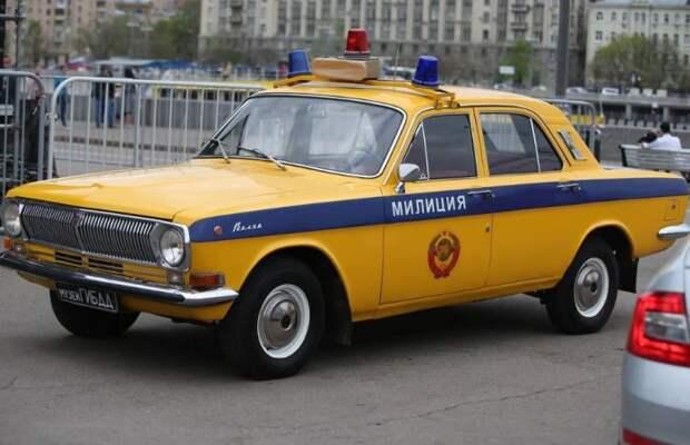 Самый узнаваемый автомобиль ГАИ.  Фото: auction.ru.