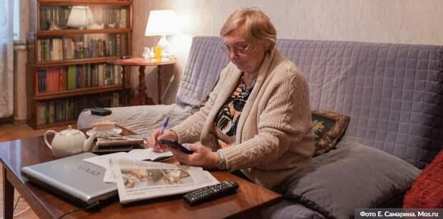 Онлайн-группы «Московского долголетия» возобновили свою работу. Фото: Е. Самарин mos.ru