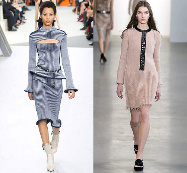 Слева — Louis Vuitton, справа — Calvin Klein