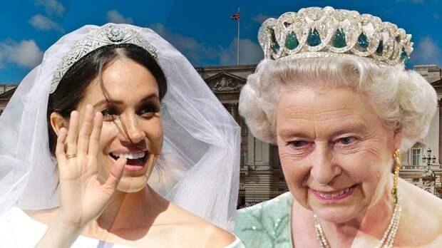 Стало известно, почему Елизавета II не доверяла Меган Маркл королевские драгоценности