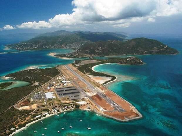 Аэропорт на острове Биф