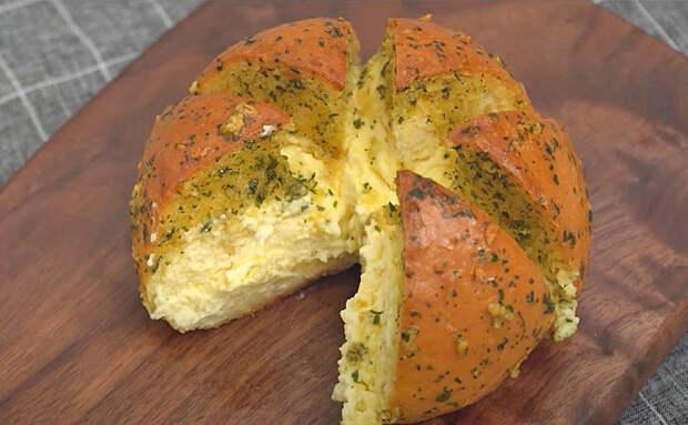 Превращаем булки из магазина в ресторанный чесночный хлеб. Готовится ровно 10 минут