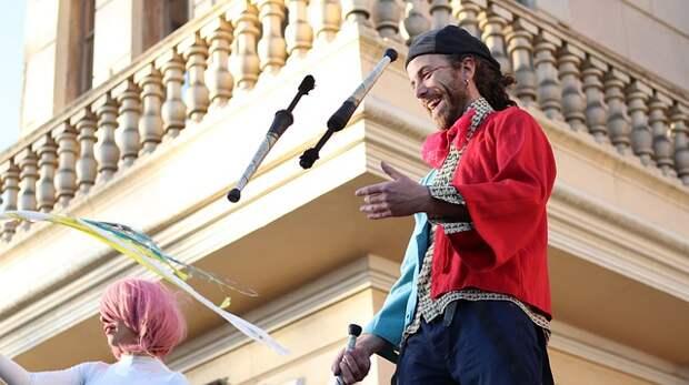 Уроки циркового искусства пройдут в Хорошёво-Мнёвниках
