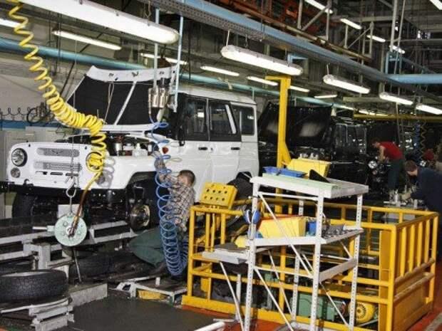 Пожар на УАЗе не повлиял на выпуск автомобилей