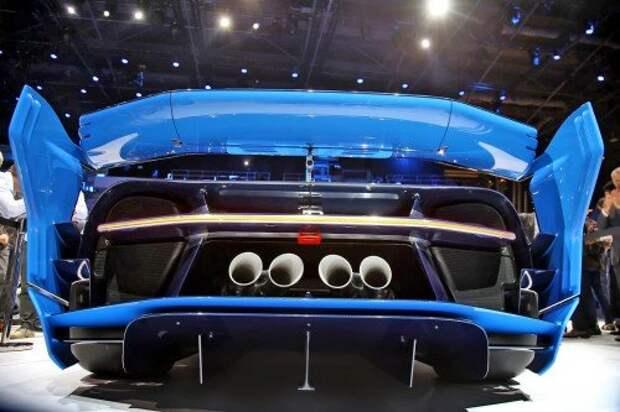 Bugatti Vision Gran Turismo вышел из виртуальной реальности