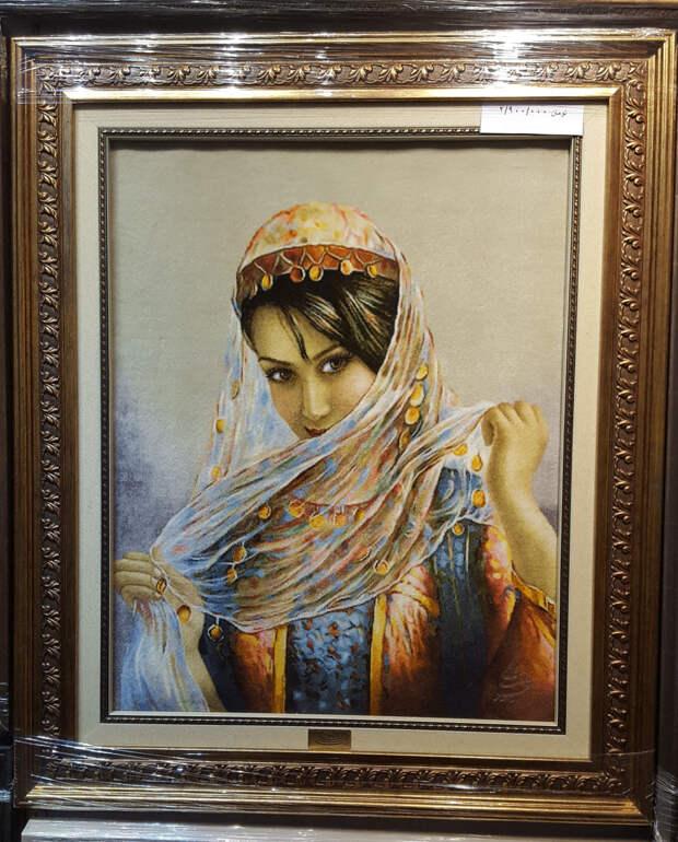 Ковры-картины как продолжение темы об изображении людей в искусстве Ирана