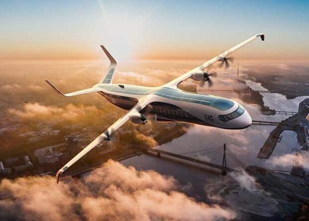 Британцы создадут 90-местный водородный авиалайнер