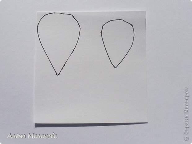 Мастер-класс Роза из гофрированной бумаги Бумага гофрированная Клей фото 2