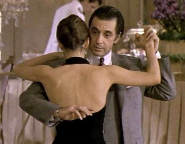 """Танго из кинофильма """"Запах женщины"""" Исполняют Габриель Анвар и Аль Пачино"""