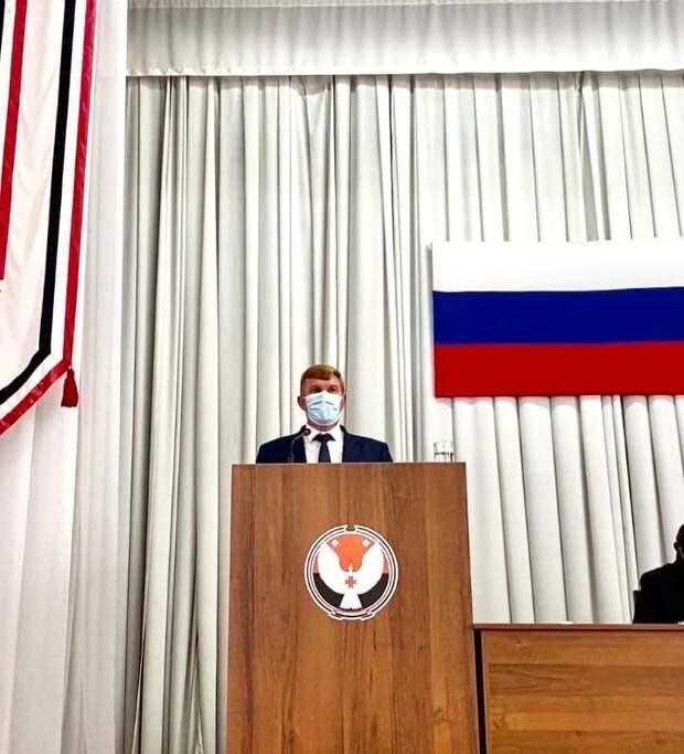 Председателем Гордумы Можги стал беспартийный депутат Андрей Чернов