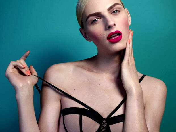 Шиворот-навыворот: действительно красивые модели-трансгендеры