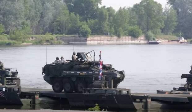 «Это была почти самоликвидация»: польский генерал о переправе войск НАТО на «российском фронте»