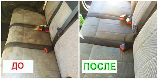 1. Салон автомобиля советы, чистка