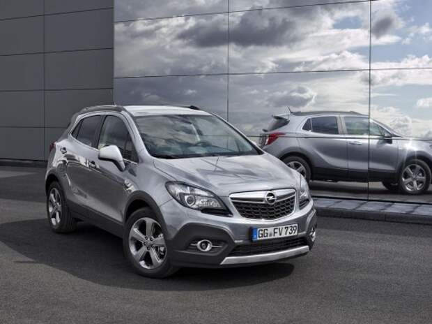 Кроссовер Opel Mokka получил новый мотор