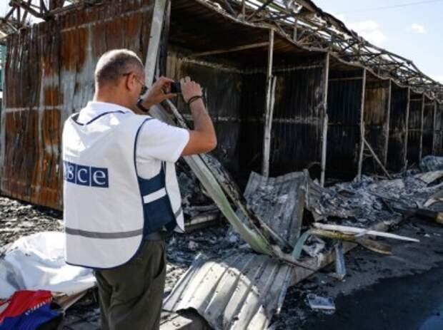 ОБСЕ жалуется, что  ВСУ не дают им работать
