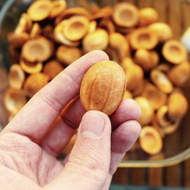 Любимая вкусняшка детства: ″орешки″ со сгущенкой! Вот тот самый рецепт!