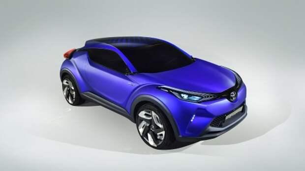 Концепт Toyota H-CR