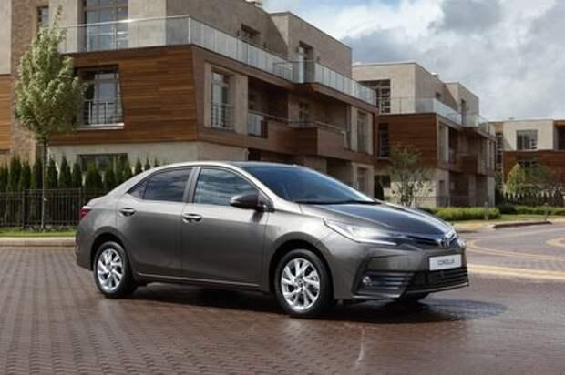 Обновленная Toyota Corolla: цены и комплектации в России