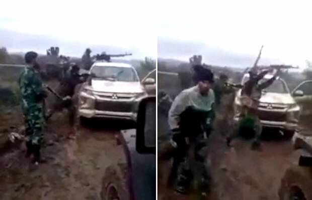 Баку не отвертится: опубликованы кадры боя сирийских боевиков в Карабахе