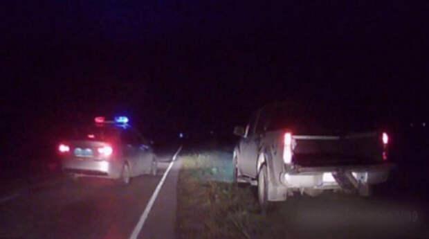 В Крыму полицейские поймали пьяного водителя