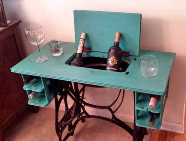 как перекрасить мебель тумбочку комод