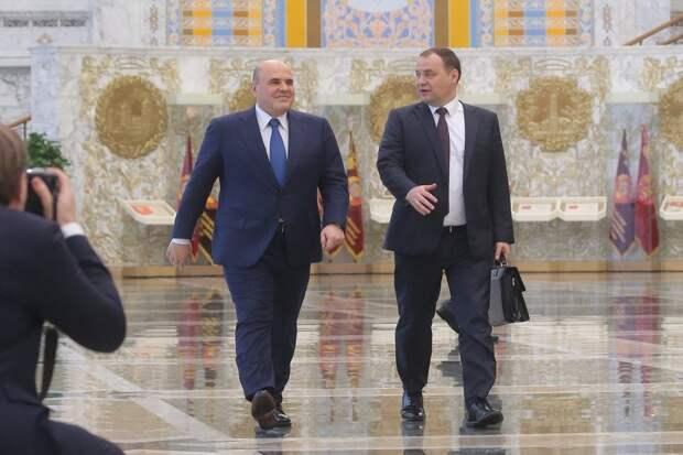 Михаил Мишустин представил Беларуси предложения по интеграции