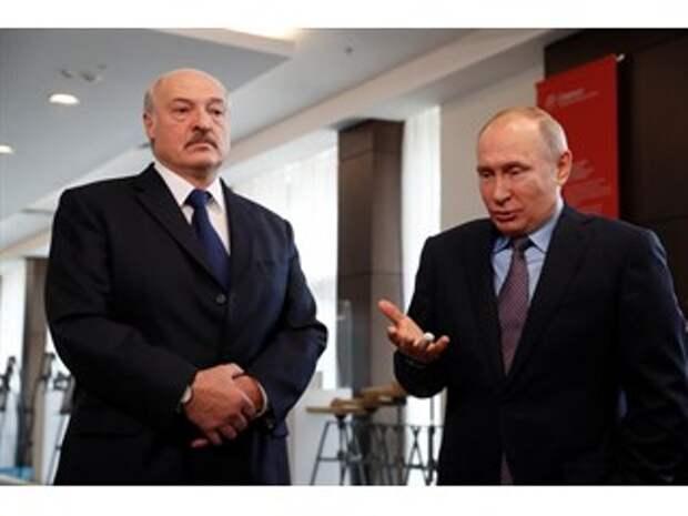 """Грозовой сигнал от Путина в """"поздравлении"""" Лукашенко"""