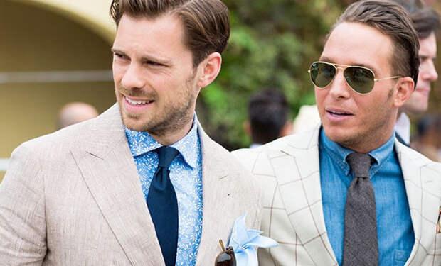 Повязываем мужской галстук и носим со знанием дела