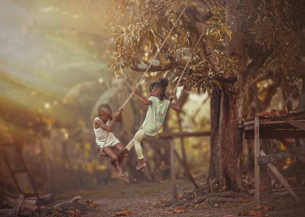 Трогательные детские фотографии от Адриана МакДональда (Adrian McDonald)