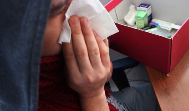 В Уфе заболеваемость ОРВИ за неделю выросла на 20%, а внебольничной пневмонией на 25%