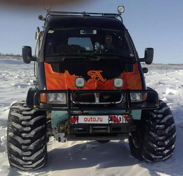 В Норильске продают дикую ГАЗель, созданную на базе грузовика ГАЗ-66