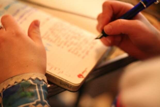 Запись мыслей на бумаге — осознанность
