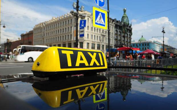 Питерский таксист прокатил немца на 10 тысяч рублей
