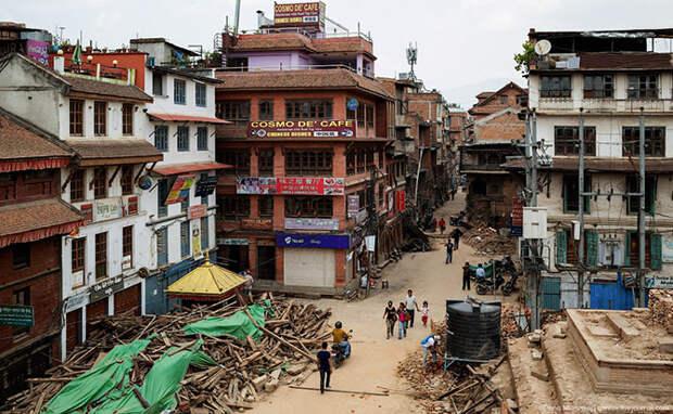 Катманду: дрожь Гималаев