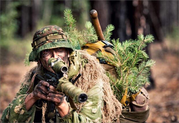 Высококачественные снимки о тренировке Спецназа России