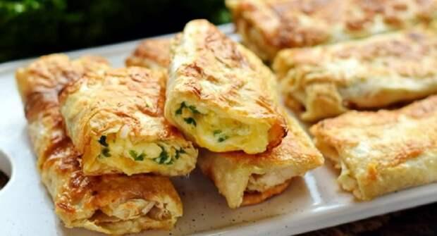 Жареный лаваш с сыром: вкусняшки за 10 минут из ничего