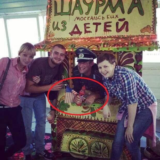 в Киеве готовы делать из русских детей шаурму