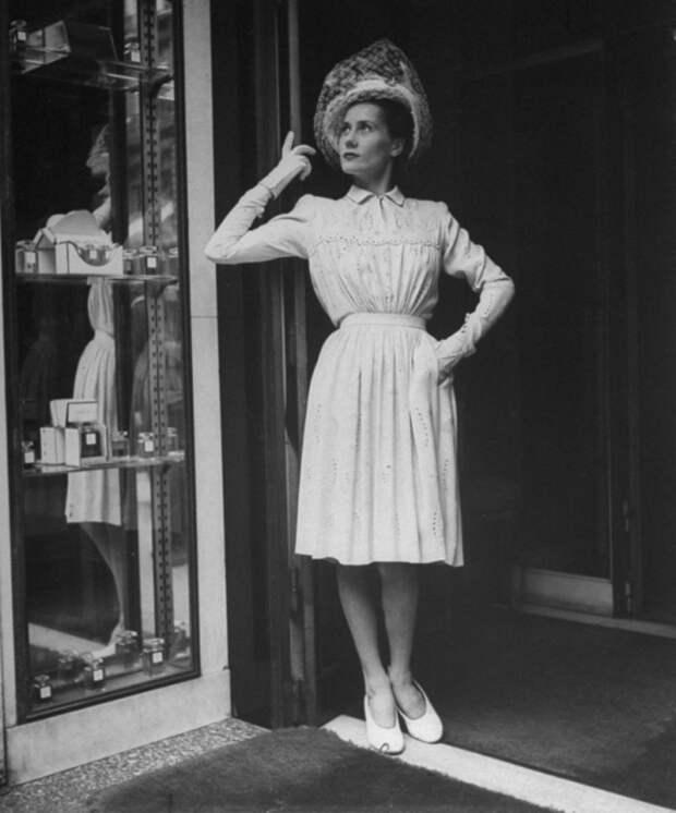 Мода освобожденного Парижа, серия фотографий для журнала Лайф, 1944