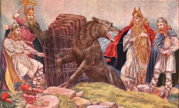 Монстр Фенрир это отголосок существования доисторического Ужасного волка?