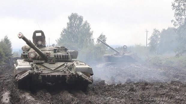 В Челябинской области танковые дивизии ЦВО отработали приёмы ведения военных действий