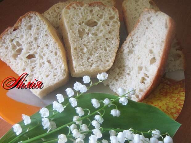 Хлеб из дрожжевого теста для оладий