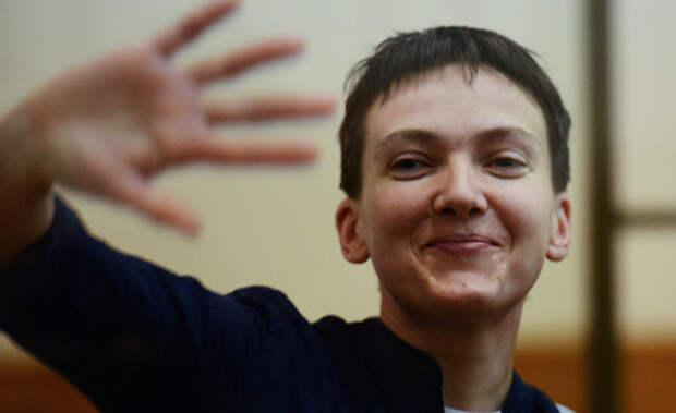 Надежда Савченко: «До армии я работала на многих работах: и официанткой, и грузчиком»