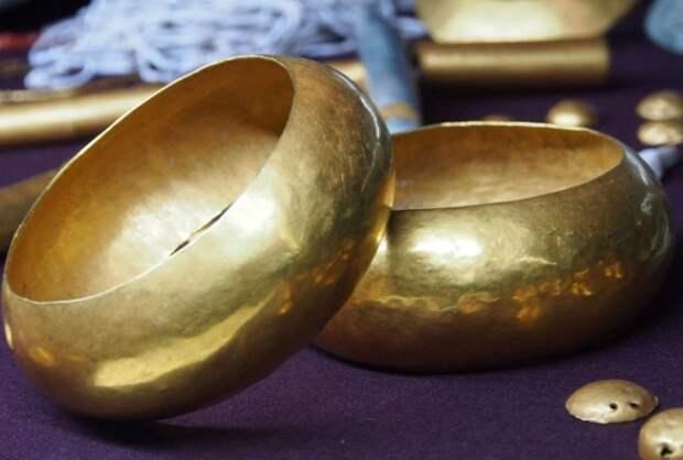 Самое старое золото в мире, обработанное человеком