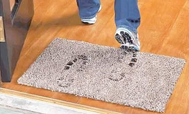 Какой придверный коврик самый гигиеничный?