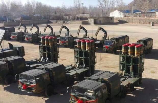 Очередная модернизация ЗРК «Штиль»: Новая партия комплексов HQ-16B пополнила 85-ю бригаду ПВО Китая в Тибете