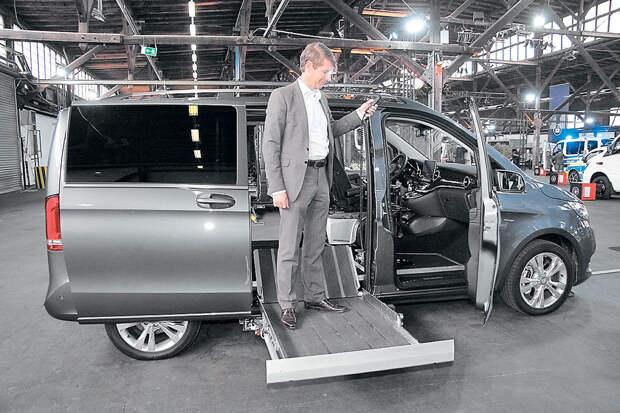 Таланты для поклонников: спецверсии Mercedes-Benz Vans