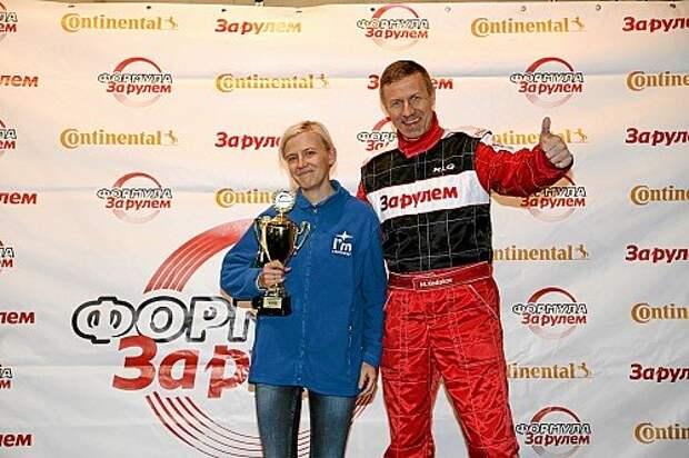 Среди всех вступавших девушек самый быстрый круг показала менеджер по связям с общественностью Subaru Светлана Лисицына