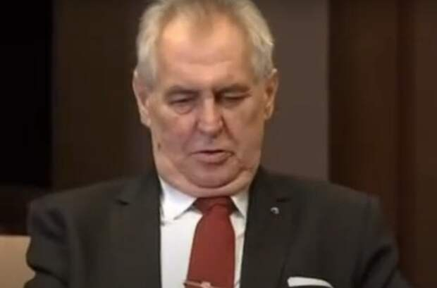 Сенат Чехии может выдвинуть против Милоша Земона обвинения в госизмене