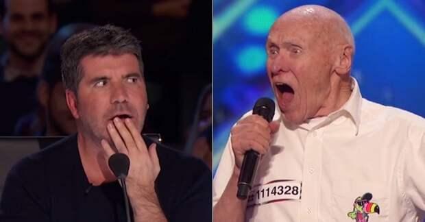 Когда судьи увидели этого конкурсанта, их удивлению не было предела. Но потом он начал петь…